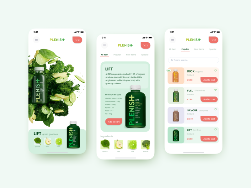 Healthy drink healthyfood mobile healthy life healthy lifestyle healthy eating healthy healthy drink clean interface design web ui ux muzli
