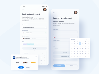Book appointment app ux tool appointments appointment booking appointment remote working remote work remotework remote meeting app meeting calendar app calendar booking system booking.com booking app bookings booking book