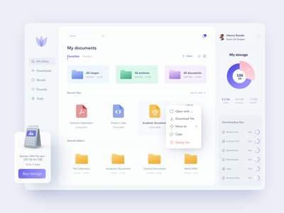 Disk Drive app design logo app minimal product interface clean ui ux