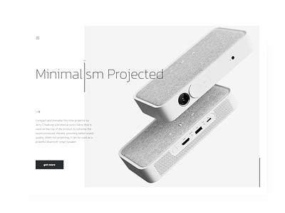 Minimal button product page website product muzli minimalism minimal web clean ui