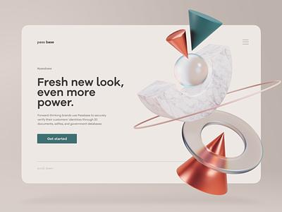 Website builder product design interface muzli 3d web ui