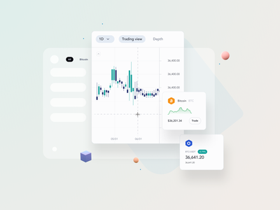 cryptocurrency stat dropdown tab bitcoin card statistic currency crypto