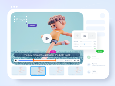 Video editor play list application product settings taem video editor editor video