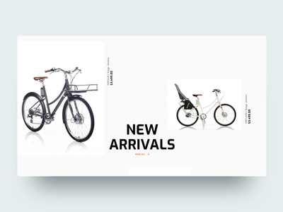🏀 New Arrivals muzli website webdesign ux ui typography techonology arrivals layout landing interaction bike concept