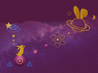 Digital Illustration for Cosmos Bunny