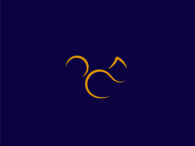 Squirrel logo lineal simple minimal icono ardilla animal squirrel icon