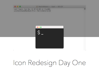 Day one redesign sketch icon