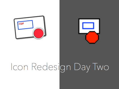 Day Two sketch redesign icon