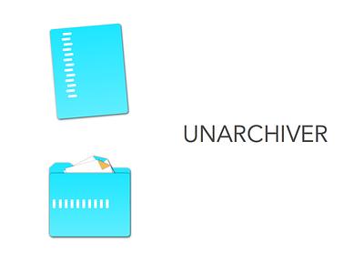 Day Six daily redesign icon rar zip