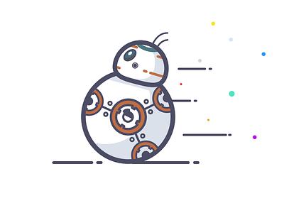 BB-8 daily design illustration sketch