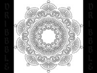 Mandala 02 - Tattoo