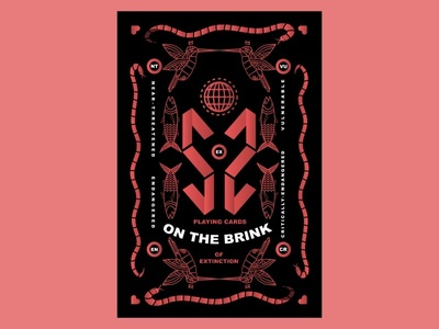 "Deck of cards design ""On the Brink"""