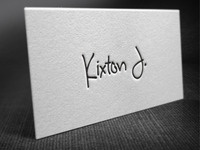 Kixton Letterpress