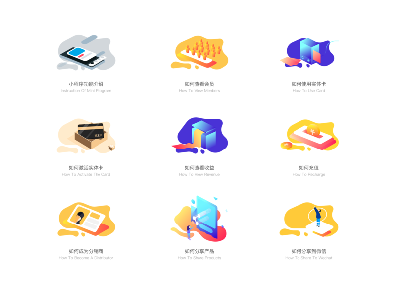 How to use a product by RuKi | Dribbble | Dribbble