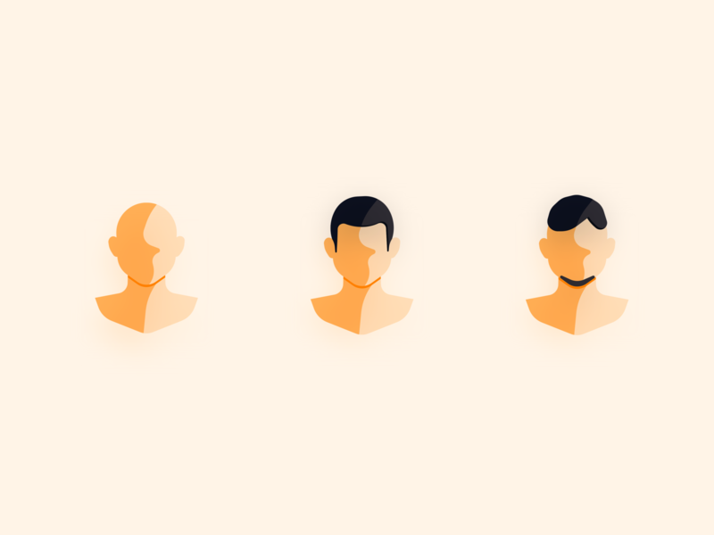 Simple avatar · man sketch icon