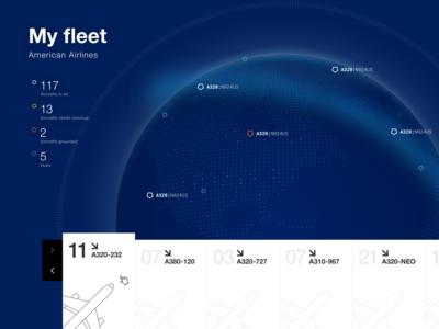 My Fleet dashboard