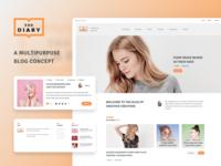 The Diary - Multipurpose Blog Concept