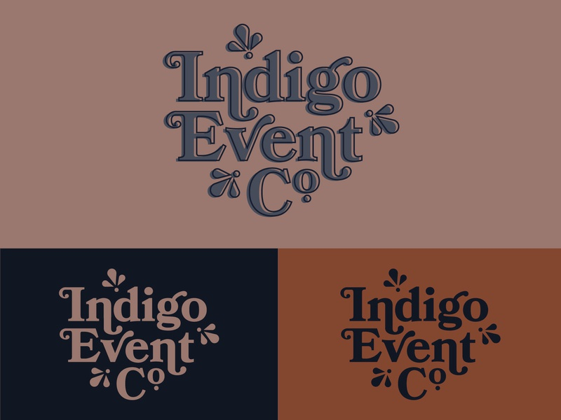 Indigo Event Co Logo
