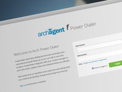 Archagent Website Redesign balderdash balderdashy balderdash design login form form input redesign austin austin texas