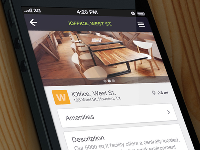 iOffice mobile app detail view balderdash mobile form detail view photo slider ioffice