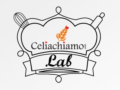 Logo Celiachiamo Lab logo brand bakery laboratory food celiachia
