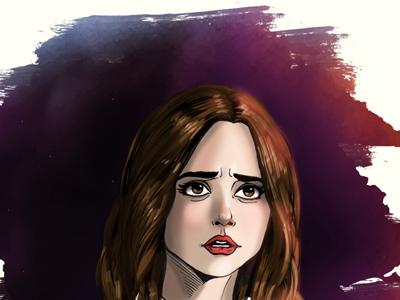 Clara Oswald illustration