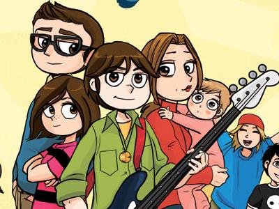 Cover Intrepidi character design fumetto comics