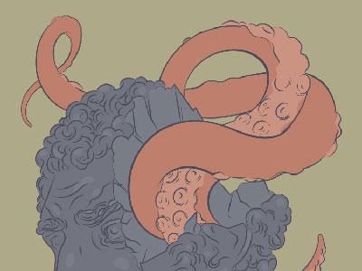 tentacles - detail