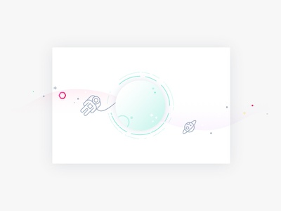 404 illustration weteachme space empty state