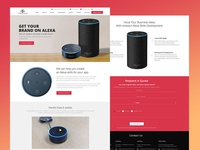 Alexa Apps Landing Page