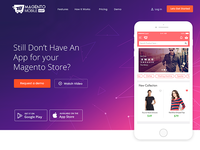 Magento Mobile Homepage Redesign