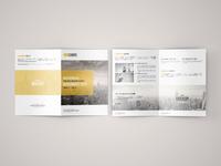 Freebie - A5 Bi Fold Brochure Mock-Up