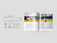 US Letter Magazine / Brochure Mock-Up