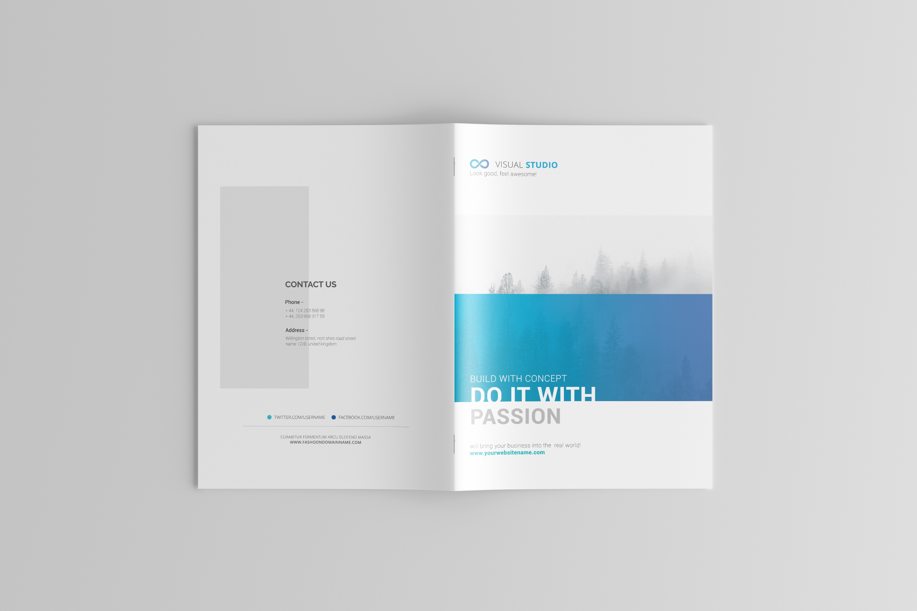 dribbble 04 a4 brochure catalog magazine mockup jpg by toasin studio