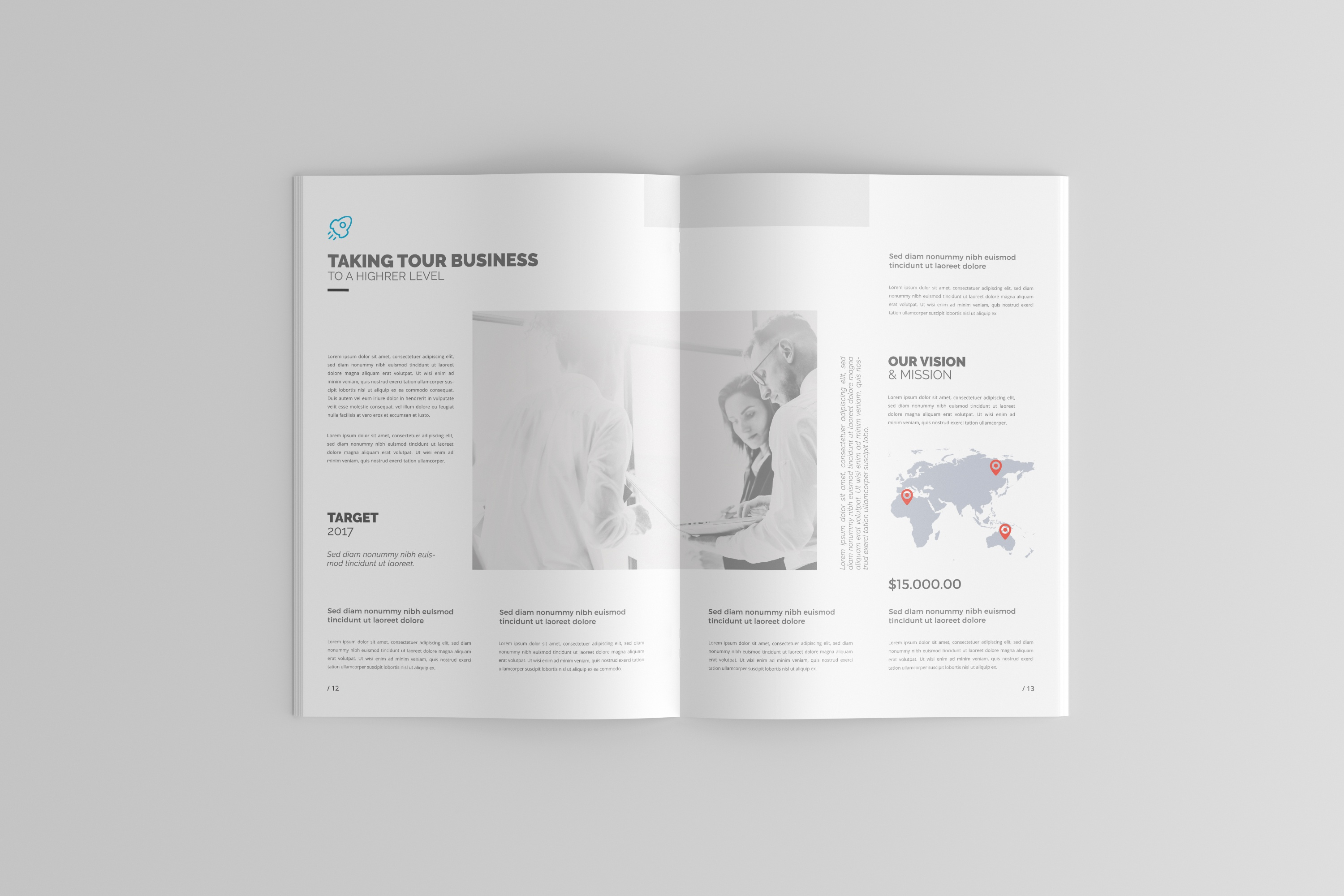 dribbble 01 a4 brochure catalog magazine mockup jpg by toasin studio