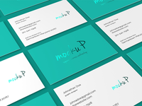 85x55 Business Card Mockup