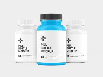 Pill Bottle Mockup template print product helth supplement medicine model 3d bottle design bottle label bottle pill presentation mock up graphic design mock-ups mock-up mockups mockup