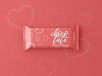 Chocolate Bar Packaging Mockup