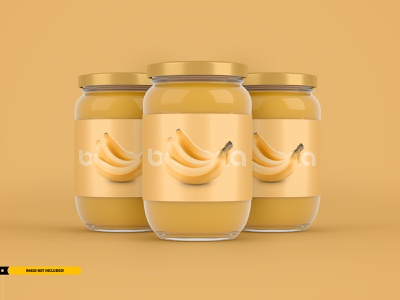 Jam Jar Packaging Mockup jars glass honey brand brand identity brand design branding packaging jar jam magazine graphic mock up brochure presentation design mock-ups mock-up mockups mockup