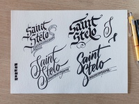 Logo for a beer – sketches #3