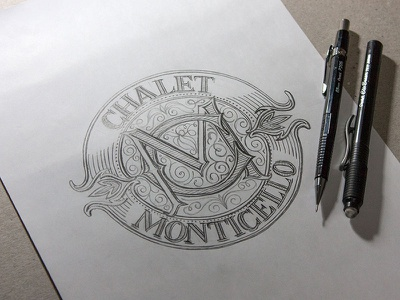 Logo design, sketch lettering typography classic logo design sketch calligraphy old style