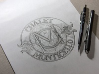 Logo design, sketch