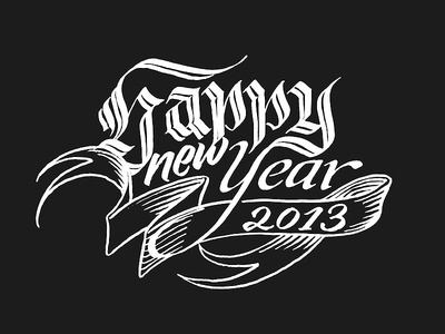 Happy new Year – finishing