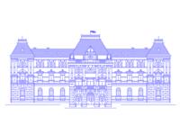 City Hall of Székelyudvarhely