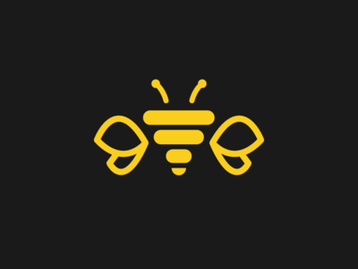 Beekeeping company logo symbol mark honeycomb icon logo honey bee beekeeping