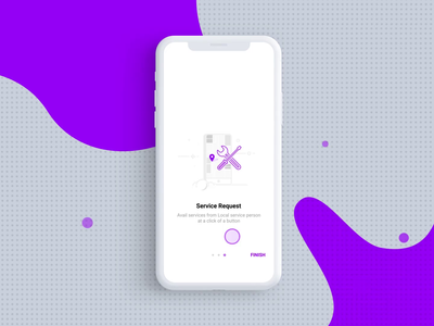 Onboarding for a Data Management Project mobile iphone onboarding app after effects design animation