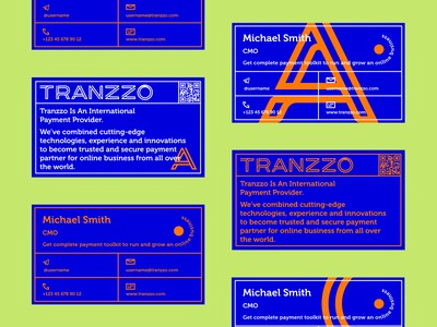 3 dribbble tranzzo bc 2 branding vector illustration poligraphy print business card print and online brand identity graphic design pattern blue and green web mobile interaction business ui ux money transfer payment finance app typography logotype