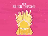 The Pencil Throne