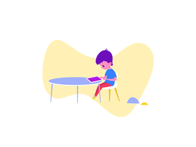 what's new today? web design ux ui learning website sketch learn daycare education kids illustration