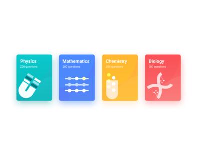books! learning app online learning education app education ux fresh vector colors ui illustration